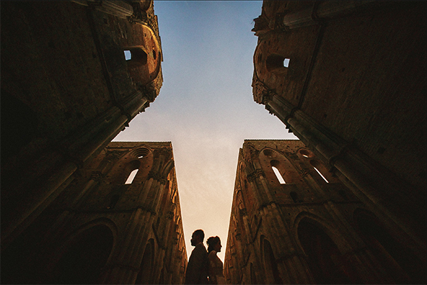 Ed + Val Sienna Italy Vow Renewal